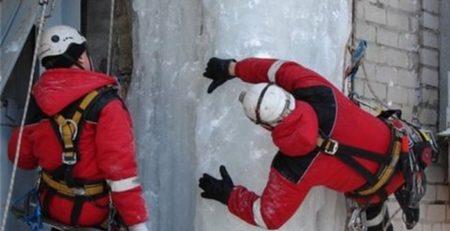 чистка льда